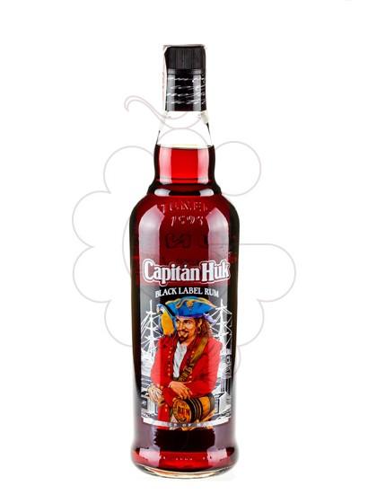 Photo Rum Capitán Huk Black label