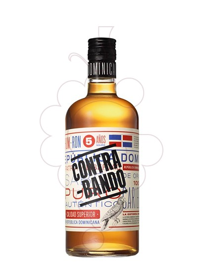Photo Rum Contra-Bando 5 Years