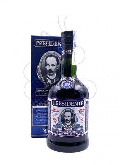 Photo Rum Presidente 19 Years