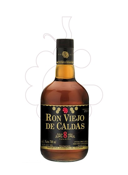 Photo Rum Viejo de Caldas 8 Years