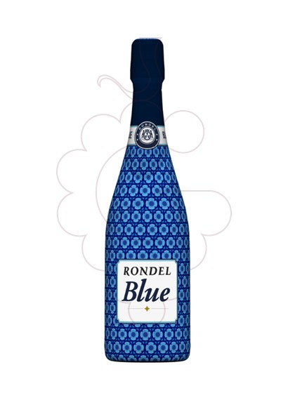 Photo Rondel Blue Brut sparkling wine