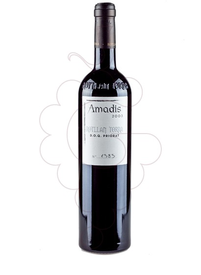 Photo Rotllan i Torra Amadis red wine