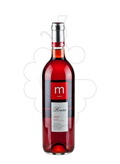 Photo Roura Rosat Merlot rosé wine