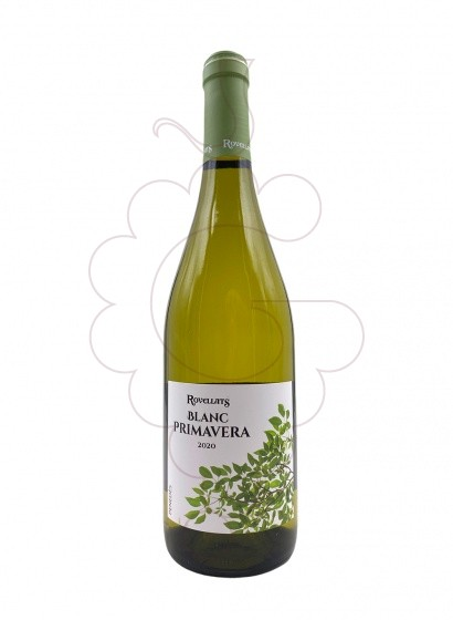 Photo Rovellats Blanc Primavera  white wine