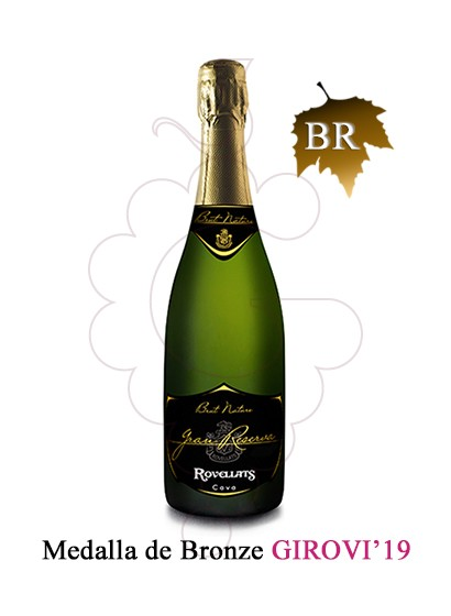 Photo Rovellats Brut Nature Gran Reserva sparkling wine