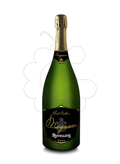 Photo Rovellats Brut Nature Magnum sparkling wine