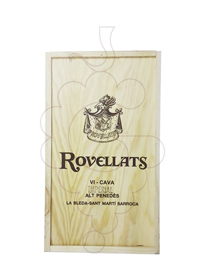 Photo Gift boxes Rovellats Gran Reserva Pack Fusta 2 u