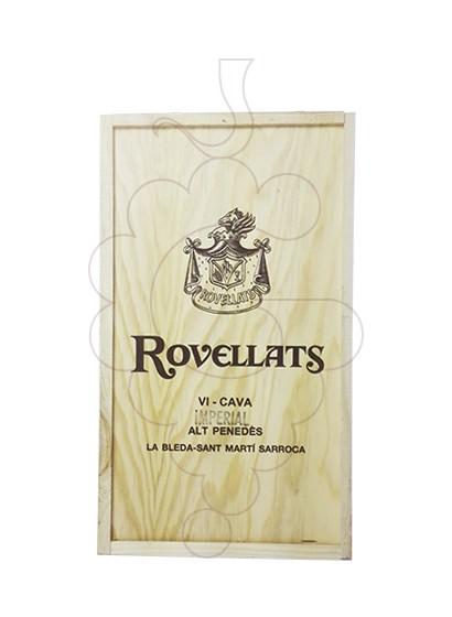 Photo Gift boxes Rovellats Gran Reserva Pack Fusta 2 u