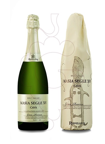 Photo Rovellats Masia S. XV sparkling wine