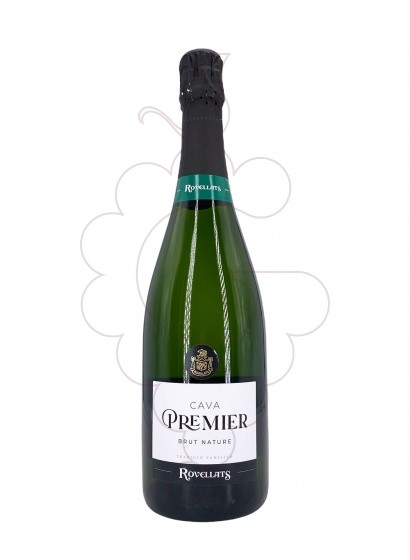 Photo Rovellats Premier Brut Nature sparkling wine