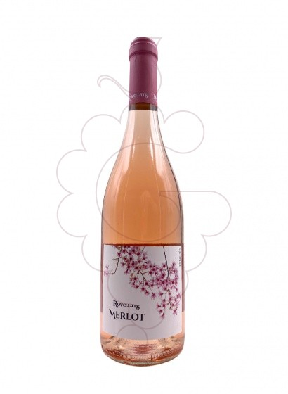 Photo Rovellats Rosat Merlot rosé wine