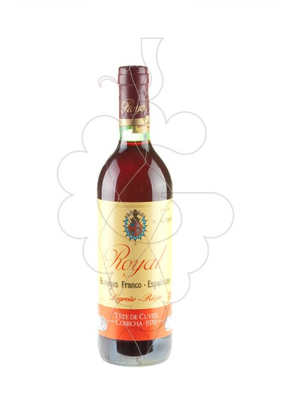 Photo Royal Tete Cuvee Gran Reserva 1970 red wine