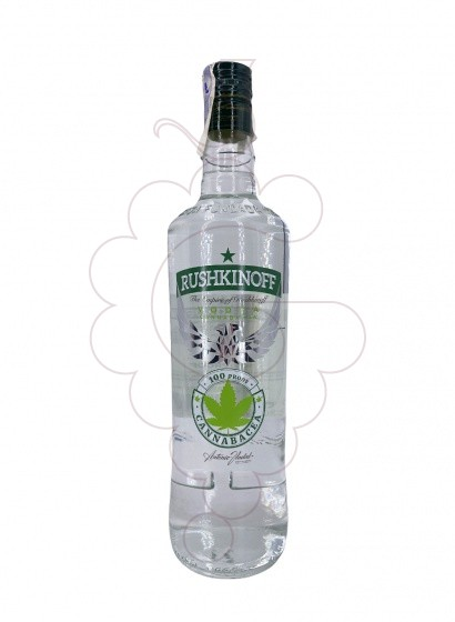 Photo Vodka Rushkinoff Cannabis