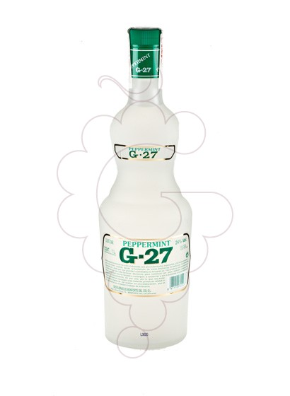 Photo Liqueur Salas Blanc G-27 Pippermint