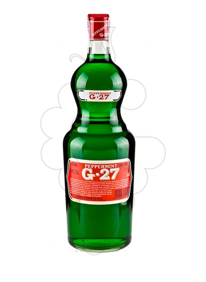 Photo Liqueur Salas Verd G-27 Pippermint Botello
