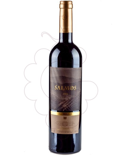 Photo Salmos red wine