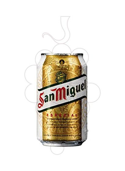 Photo Beer San Miguel Llauna