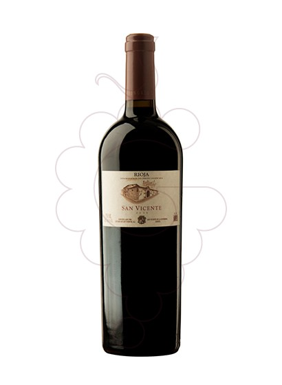 Photo San Vicente red wine