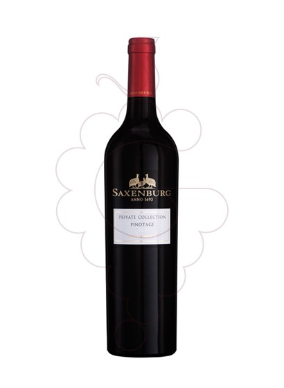 Photo Saxenburg Private Collection Pinotage red wine
