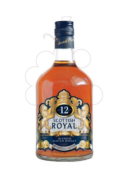 Photo Whisky Scottish Royal 12 Years