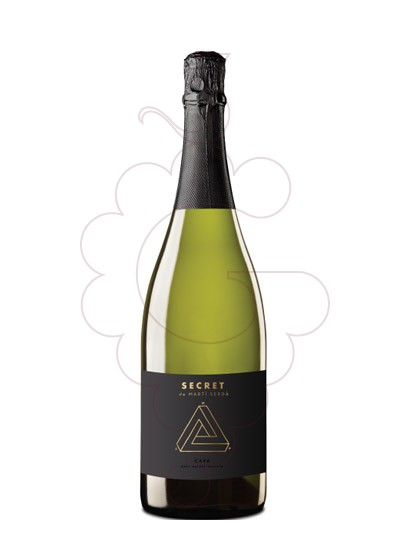 Photo Secret de Marti Serda Brut Nature sparkling wine