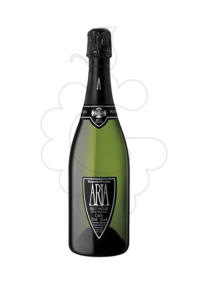 Photo Segura Viudas Brut Aria sparkling wine