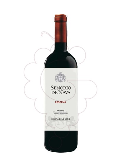 Photo Señorio de Nava Reserva red wine