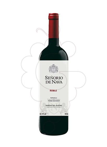Photo Señorio de Nava Roble Magnum red wine