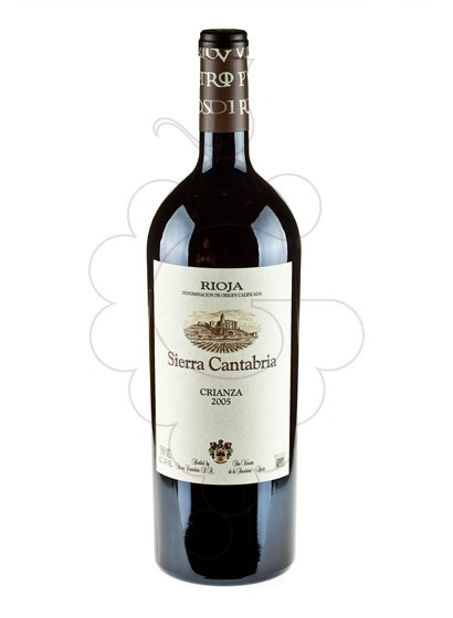 Photo Sierra Cantabria Crianza Magnum red wine