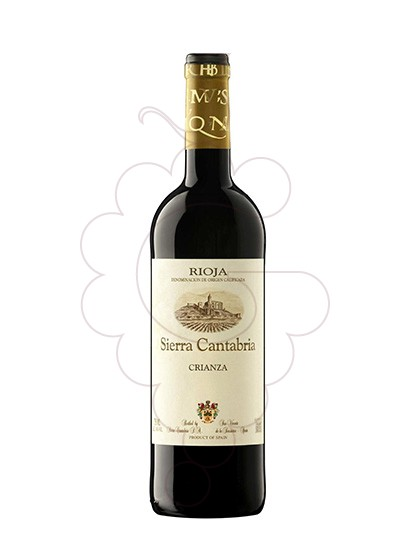 Photo Sierra Cantabria Crianza red wine