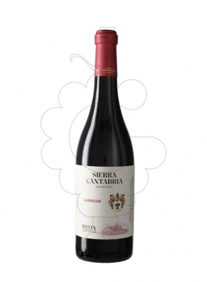 Photo Sierra Cantabria Garnacha red wine