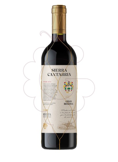 Photo Sierra Cantabria Gran Reserva red wine