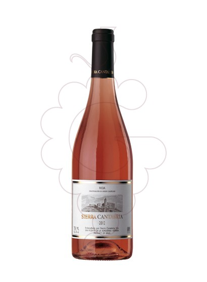 Photo Rose Sierra Cantabria rosé wine