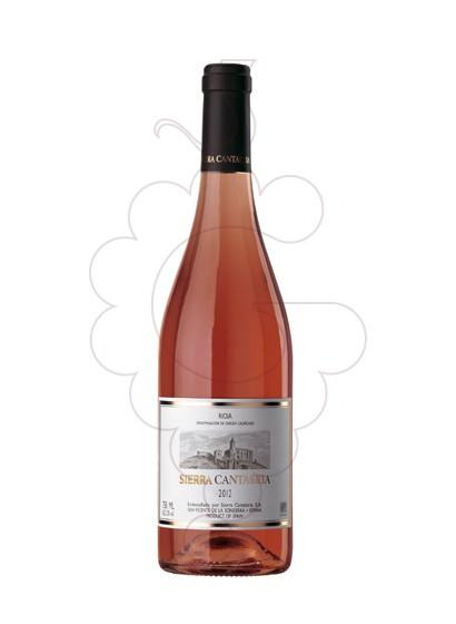 Photo Sierra Cantabria Rosat rosé wine