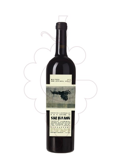 Photo Sine Qua Non Raven Nº 5 red wine