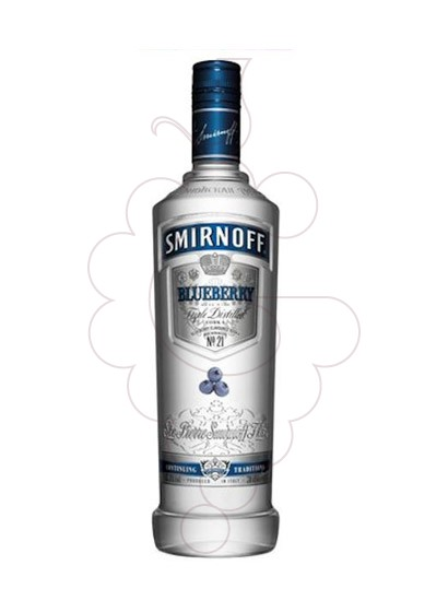 Photo Vodka Smirnoff Blueberry