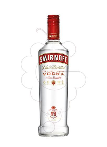 Photo Vodka Smirnoff Red Label