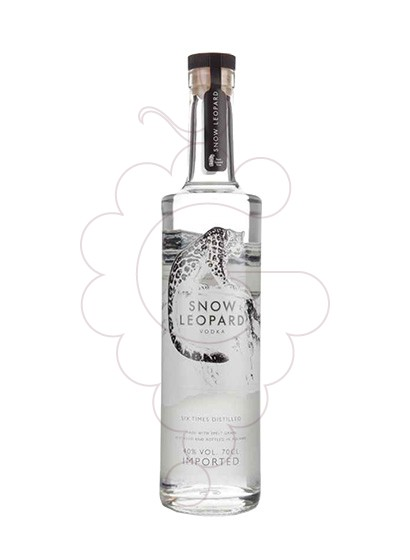 Photo Vodka Snow Leopard