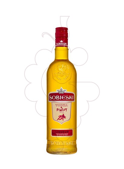 Photo Liqueur Sobieski Piment Peche