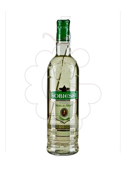 Photo Vodka Sobieski Herbe Pologne