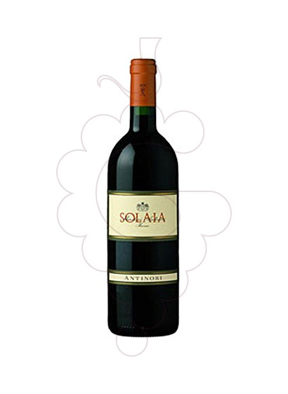 Photo Antinori Solaia red wine