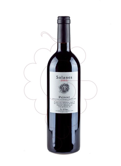 Photo Solanes red wine