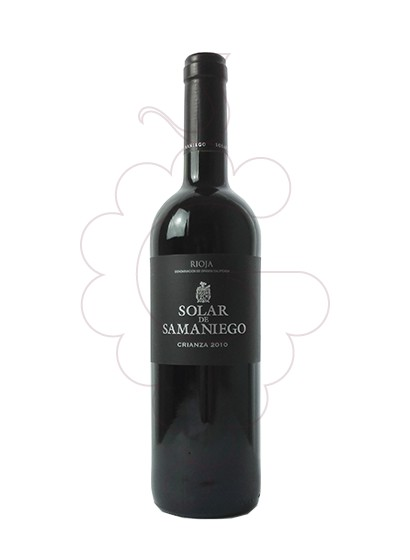 Photo Solar de Samaniego Crianza red wine