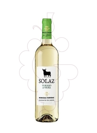 Photo Solaz Blanco white wine