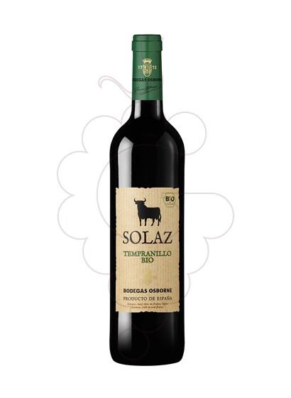 Photo Solaz Tempranillo Bio red wine