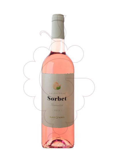 Photo Sorbet Garnatxa Rosat  rosé wine