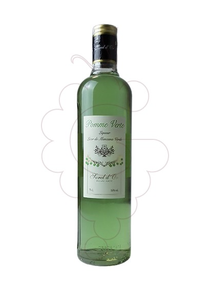 Photo Liqueur Sorel d'Or Pomme Verte