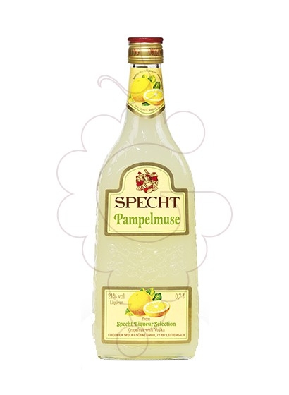 Photo Liqueur Specht Pampelmuse