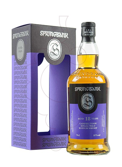 Photo Whisky Springbank 18 Years
