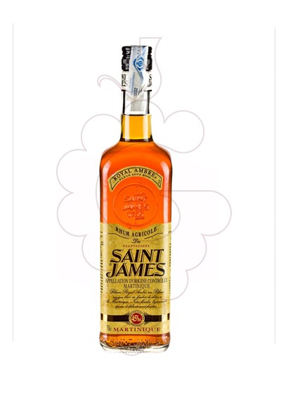 Photo Rum Saint James Royal Ambré